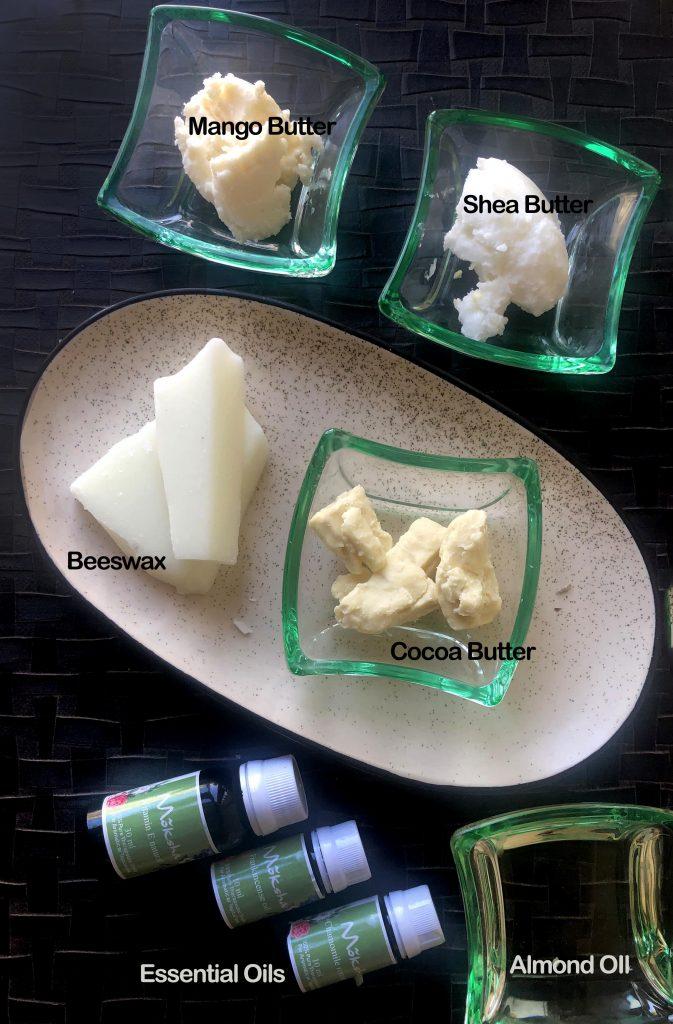 ingredients lotion bar