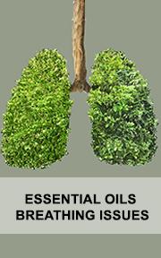 breathing issue essential oils
